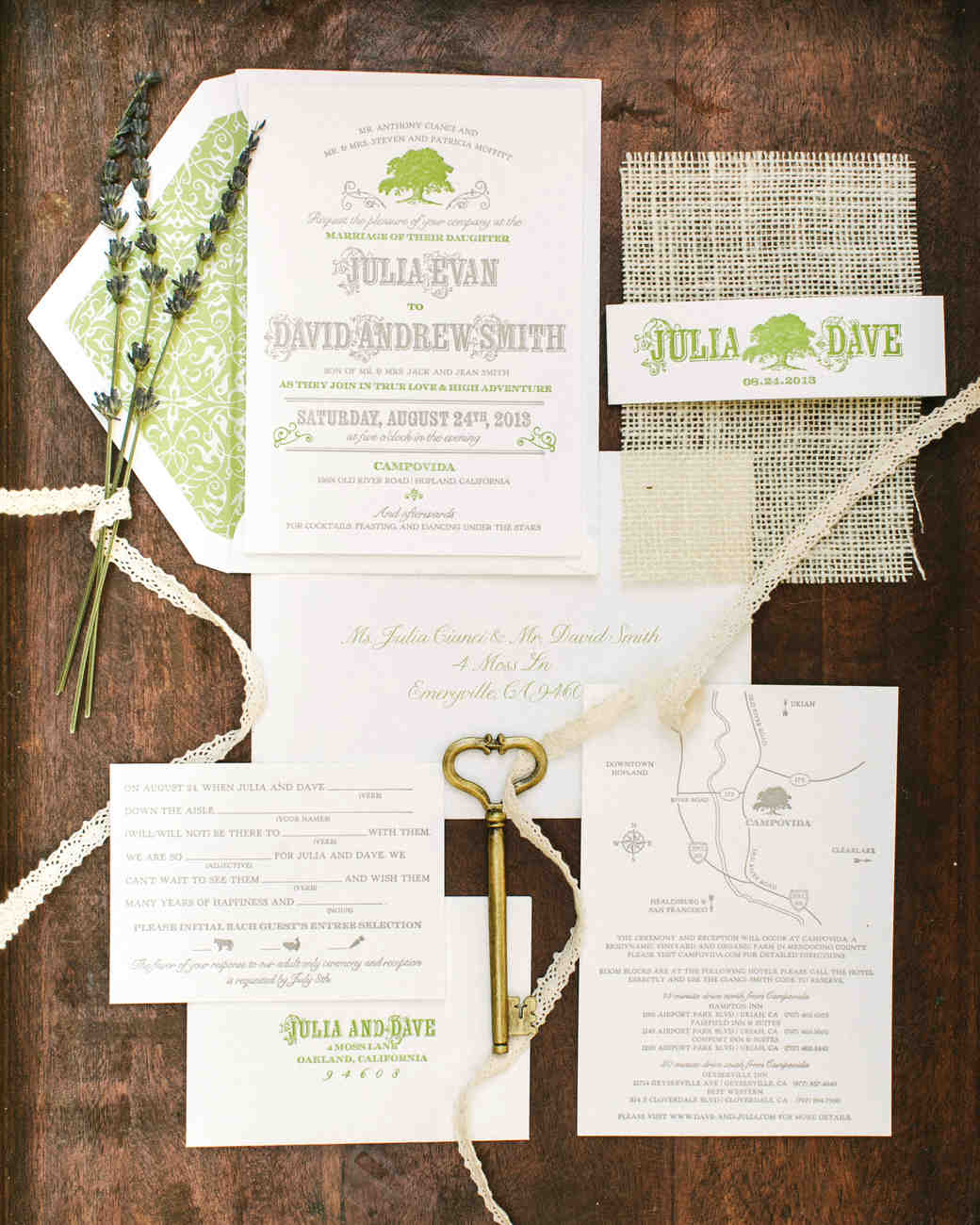 A Casual Garden Party Wedding in Northern California – Garden Party Wedding Invitations