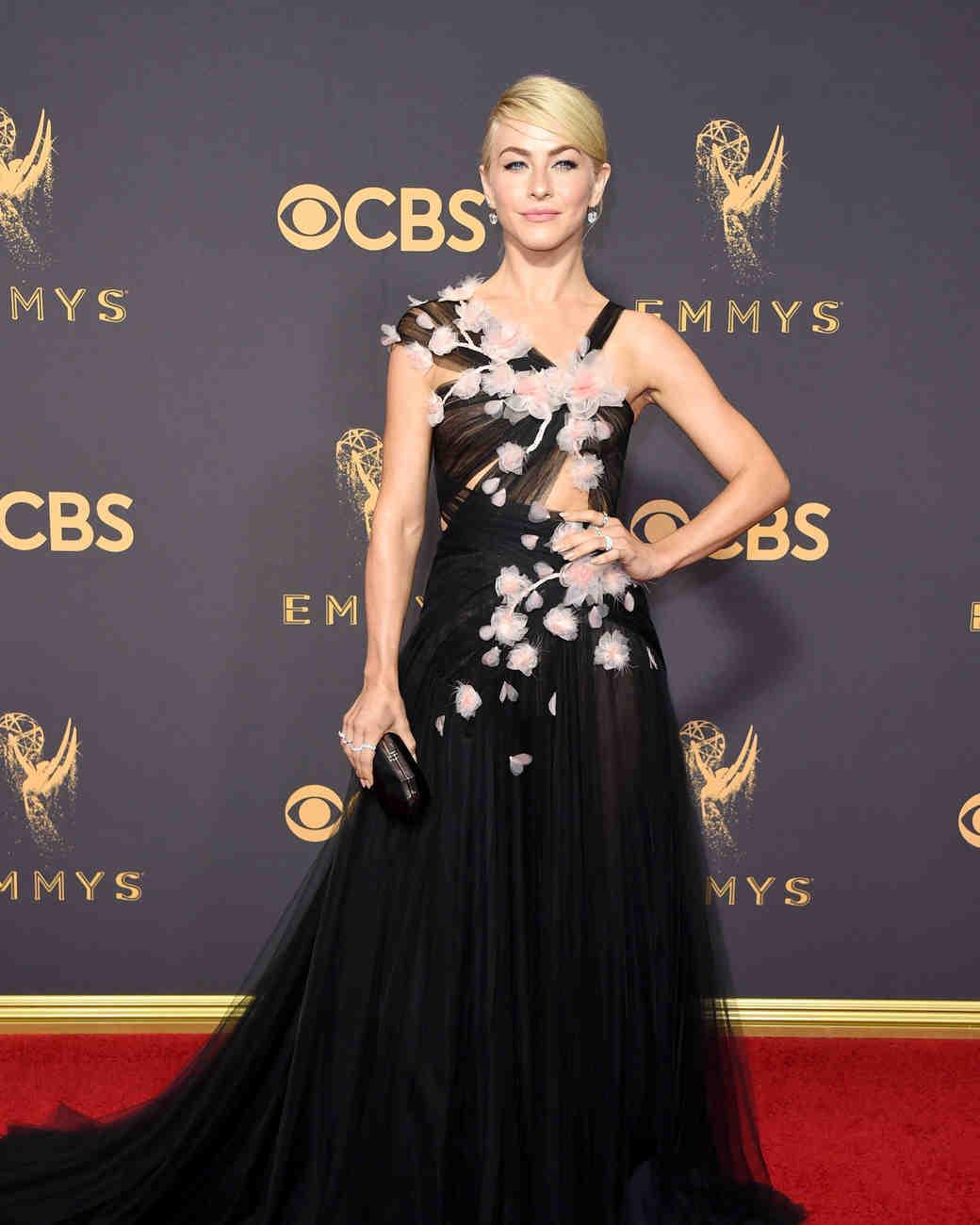 Julianne Hough Emmys Red Carpet 2017