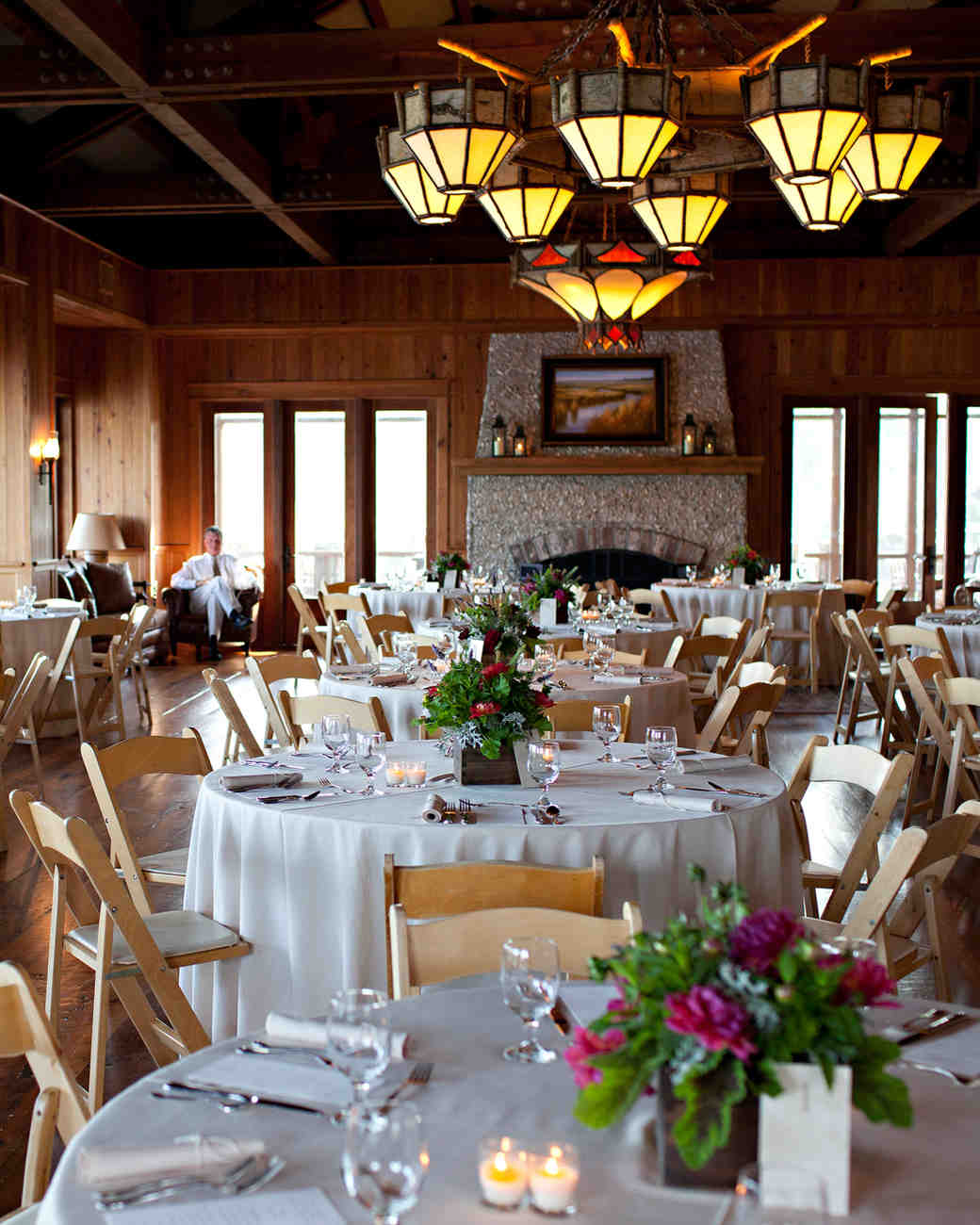 Dinner Ideas For Wedding: Laird And Ross's Festive Rehearsal Dinner With A Southern