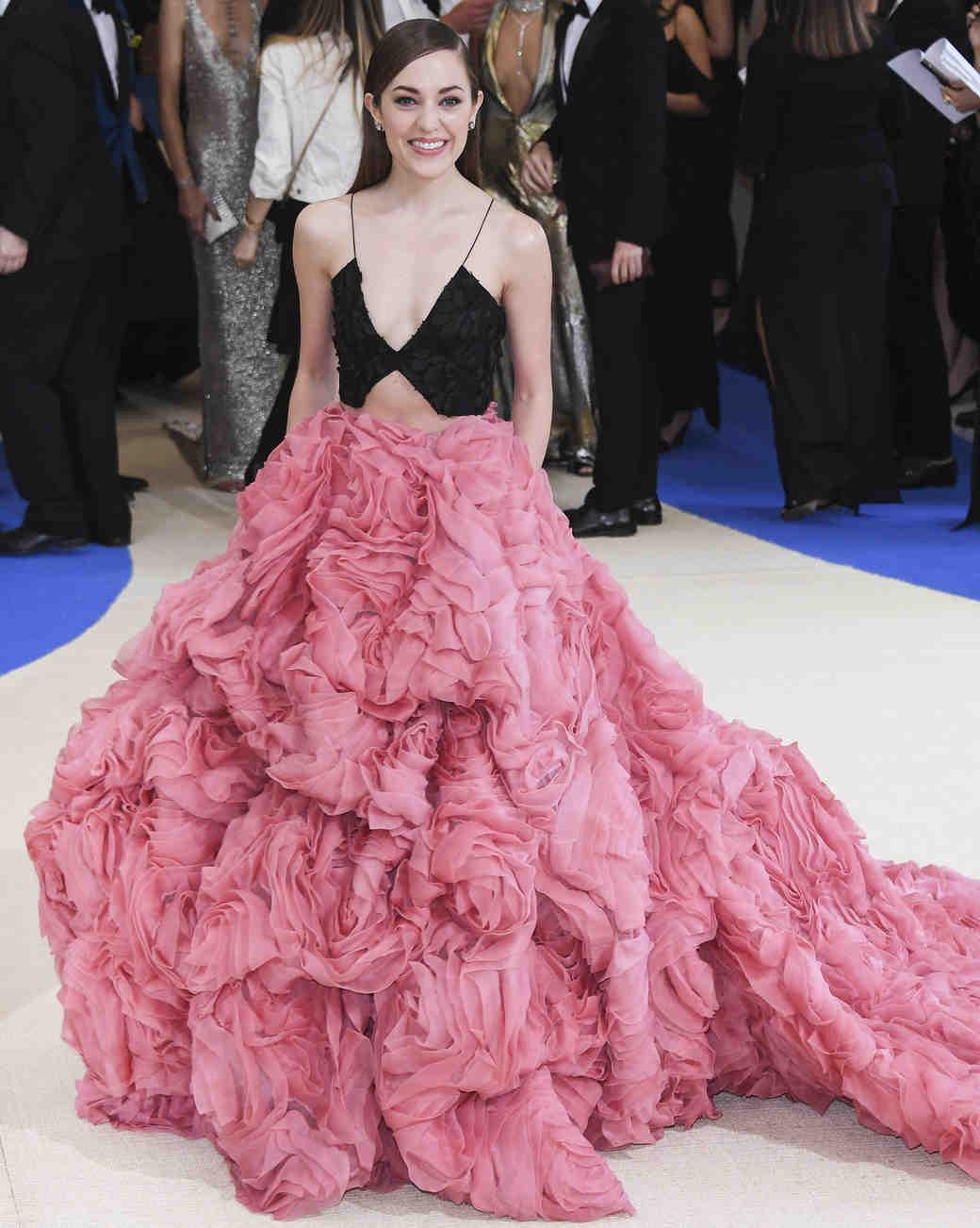 Laura Osnes Meta Gala 2017 Dress
