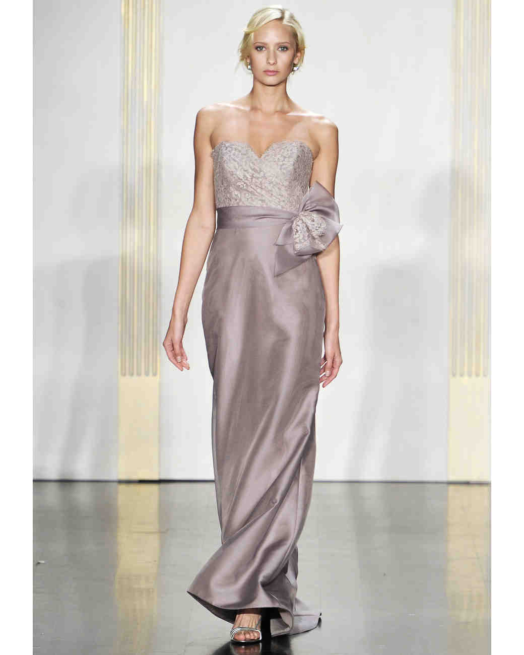 Noir by lazaro fall 2012 collection martha stewart weddings long mauve bridesmaid dress ombrellifo Image collections