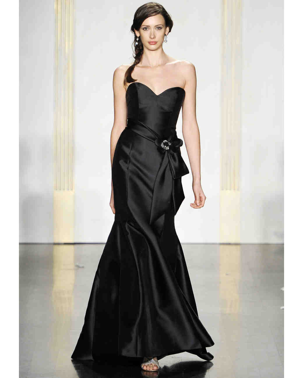 Noir by lazaro fall 2012 collection martha stewart weddings ombrellifo Image collections