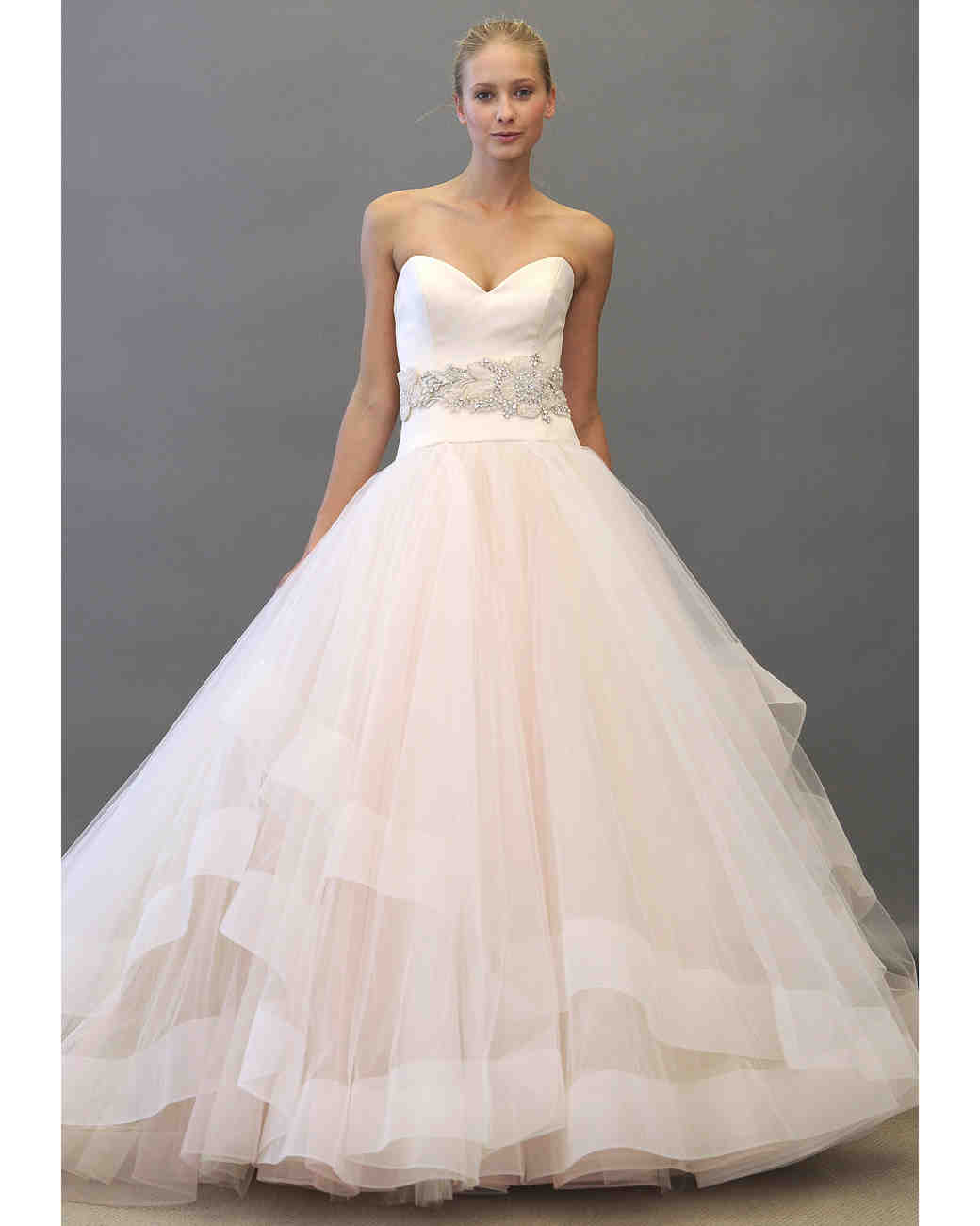 Enchanting Lazaro Ball Gown Model - Top Wedding Gowns ...