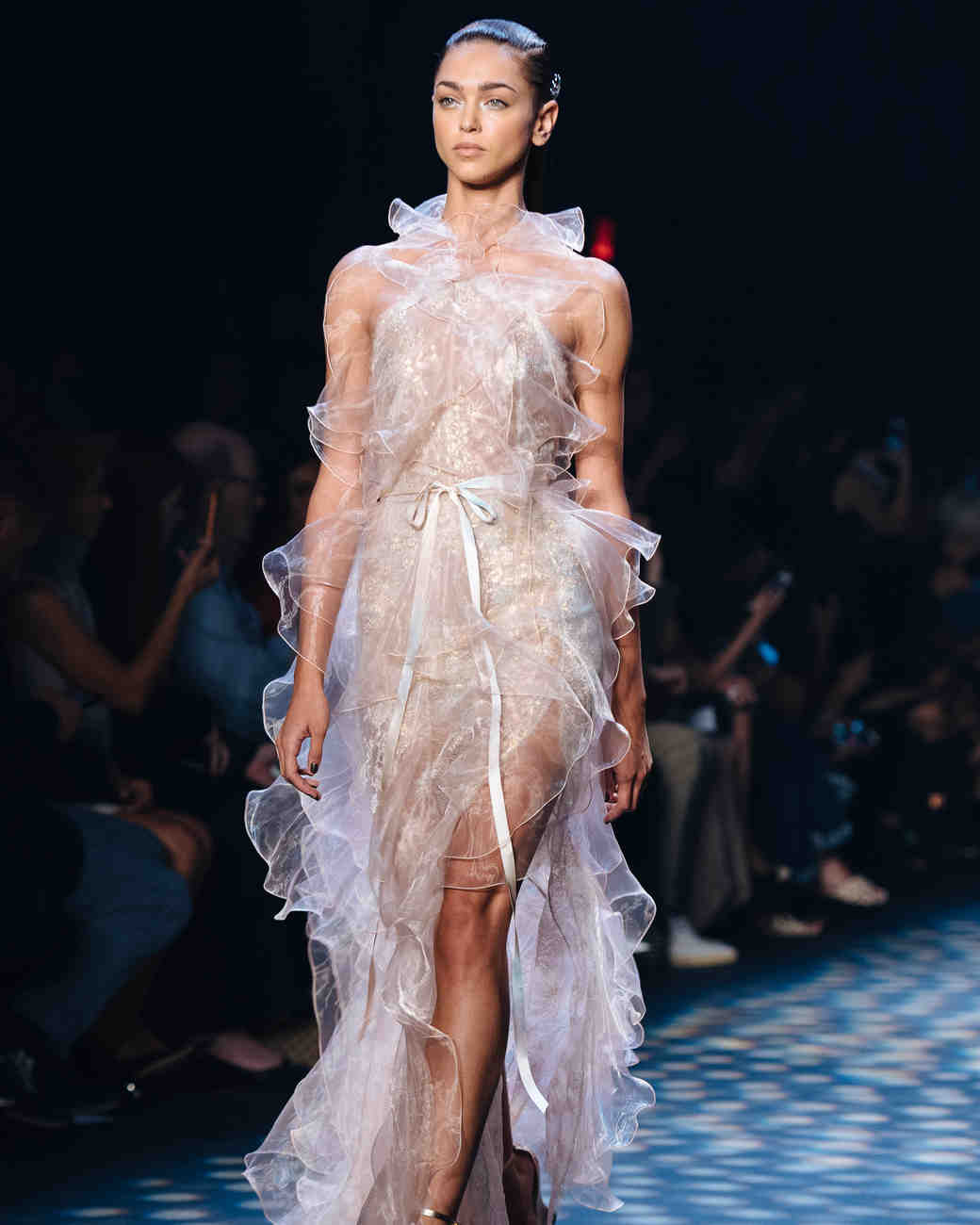 New York Fashion Week Looks That Could Double As Wedding Dresses Martha Weddings