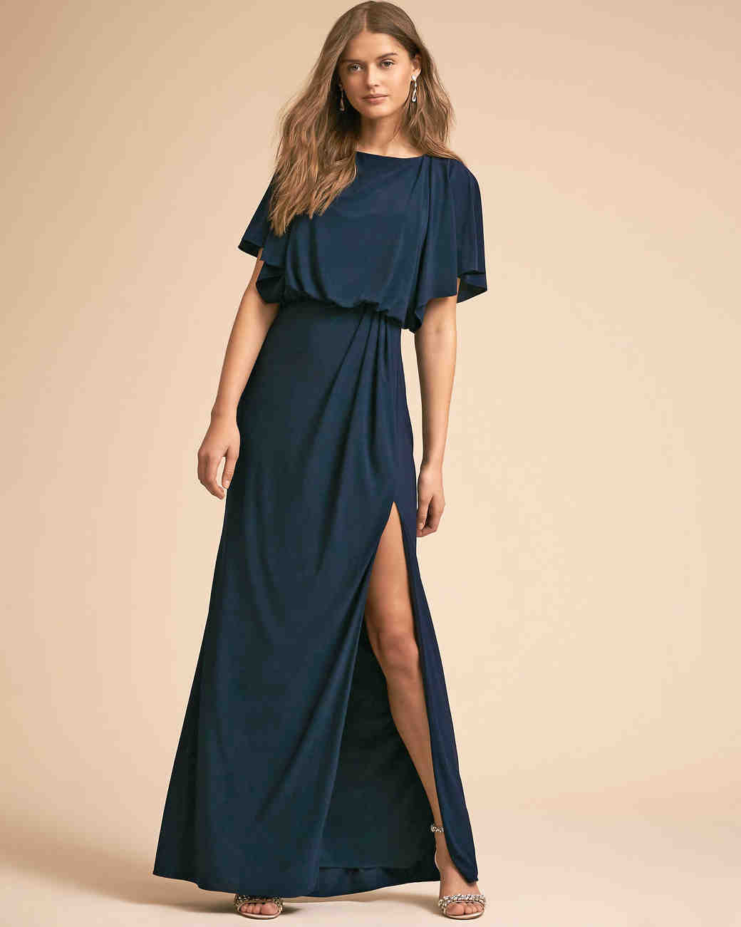 df3e024f9a 35 Navy Dresses for Classic Mothers of the Bride and Groom