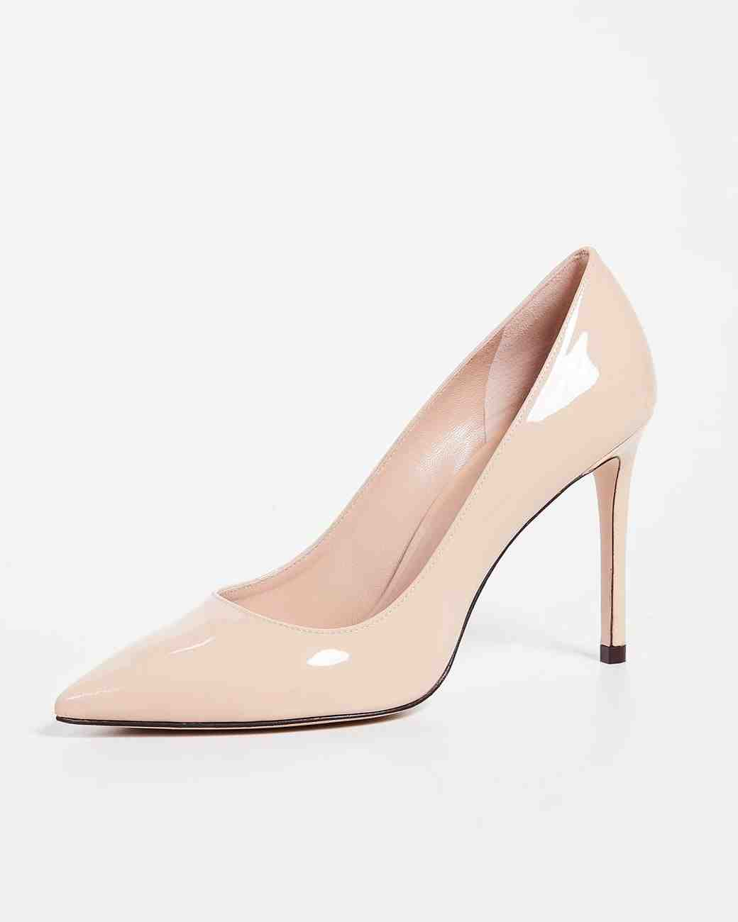 nude shoe pink high heel leigh pumps