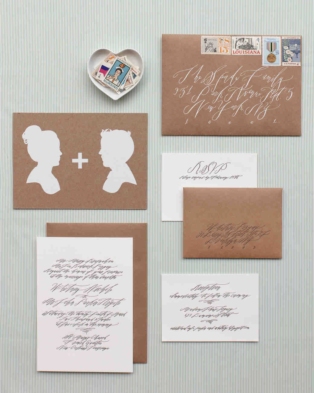 to hire a calligrapher or not - How To Mail Wedding Invitations