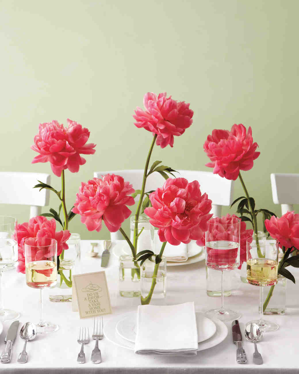 23 diy wedding centerpieces we love martha stewart weddings paper peony centerpieces junglespirit Image collections