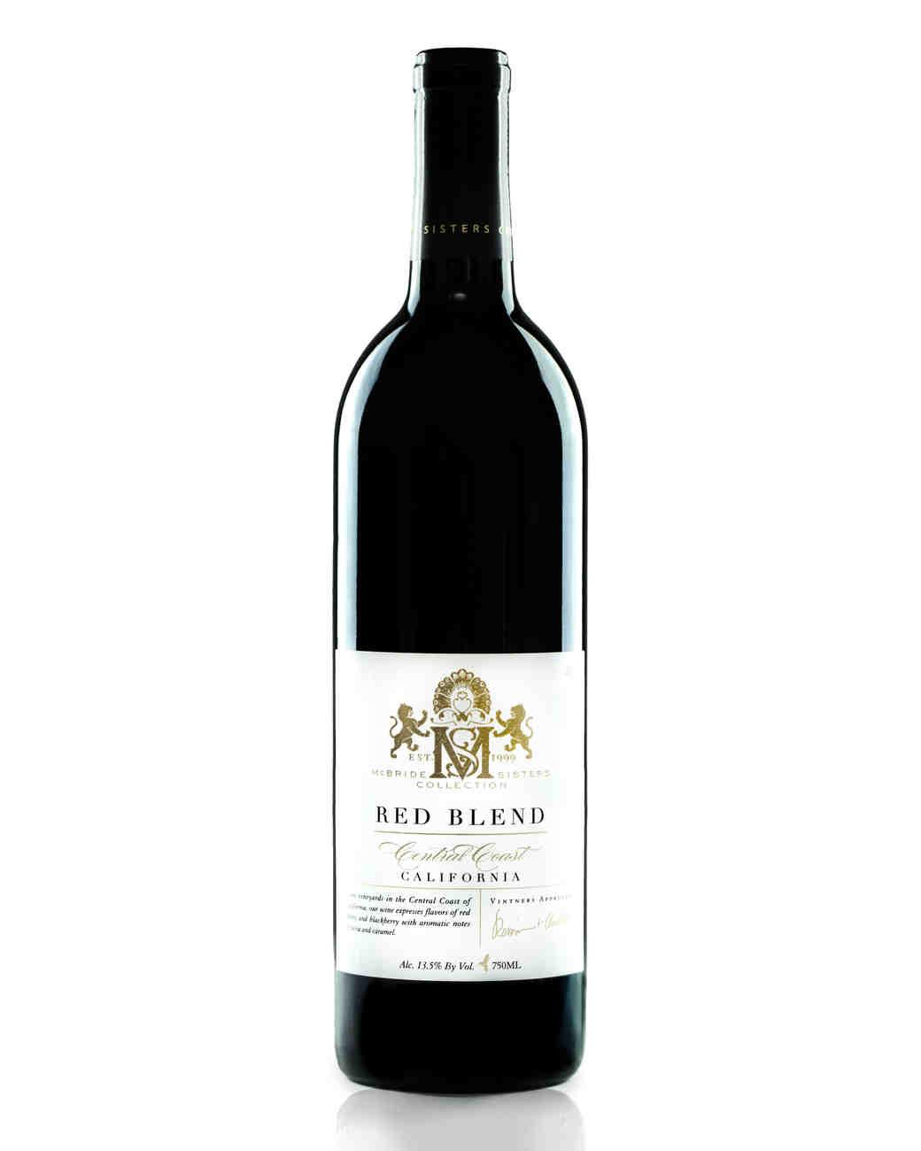 mcbride sisters red wine