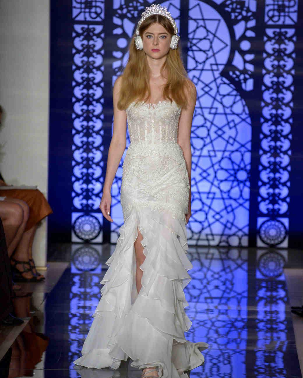 aa84c782bc33 Reem Acra Fall 2016 Wedding Dress Collection | Martha Stewart Weddings