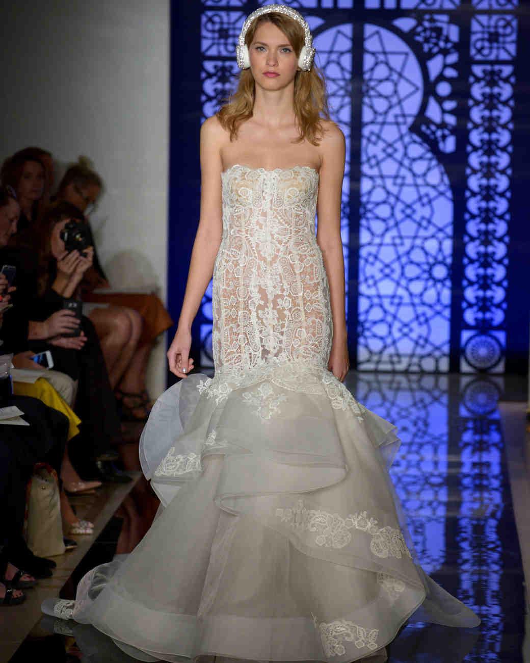 45320edac6a Reem Acra Fall 2016 Wedding Dress Collection
