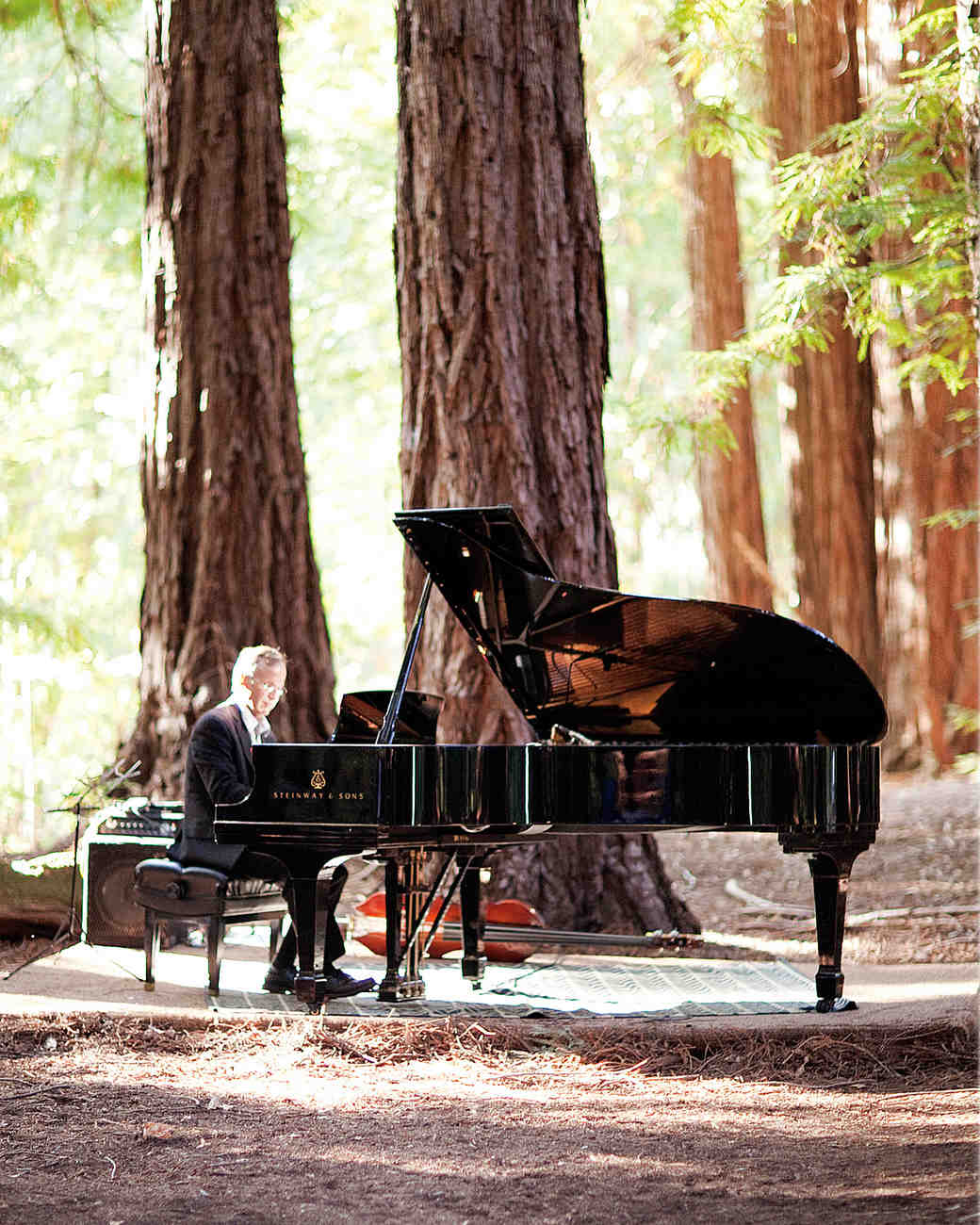 Wedding Recessional Songs Piano: A Formal Rustic Outdoor Destination Wedding In California