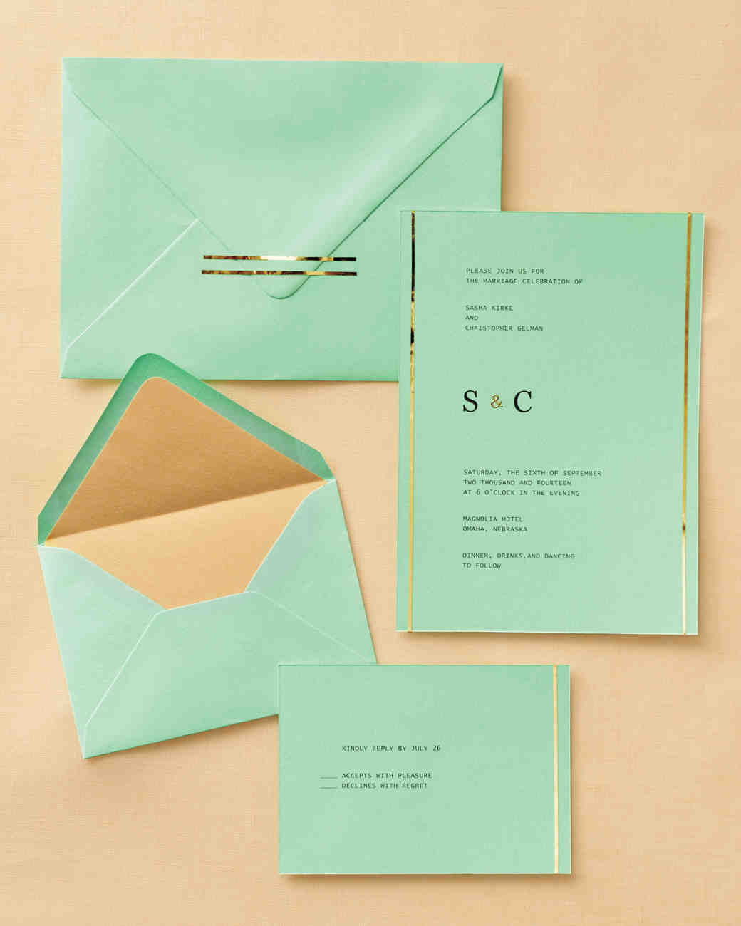 Easy Ways To Upgrade Your Wedding Invitations Martha Stewart Weddings