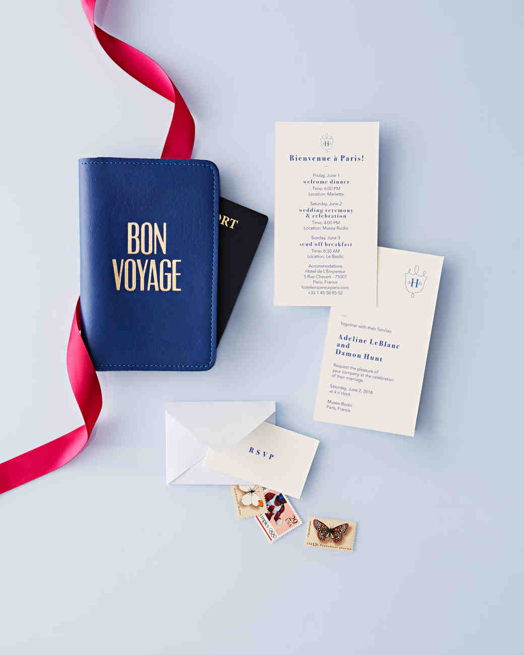 38 Destination Wedding Invitations From Real Weddings Martha