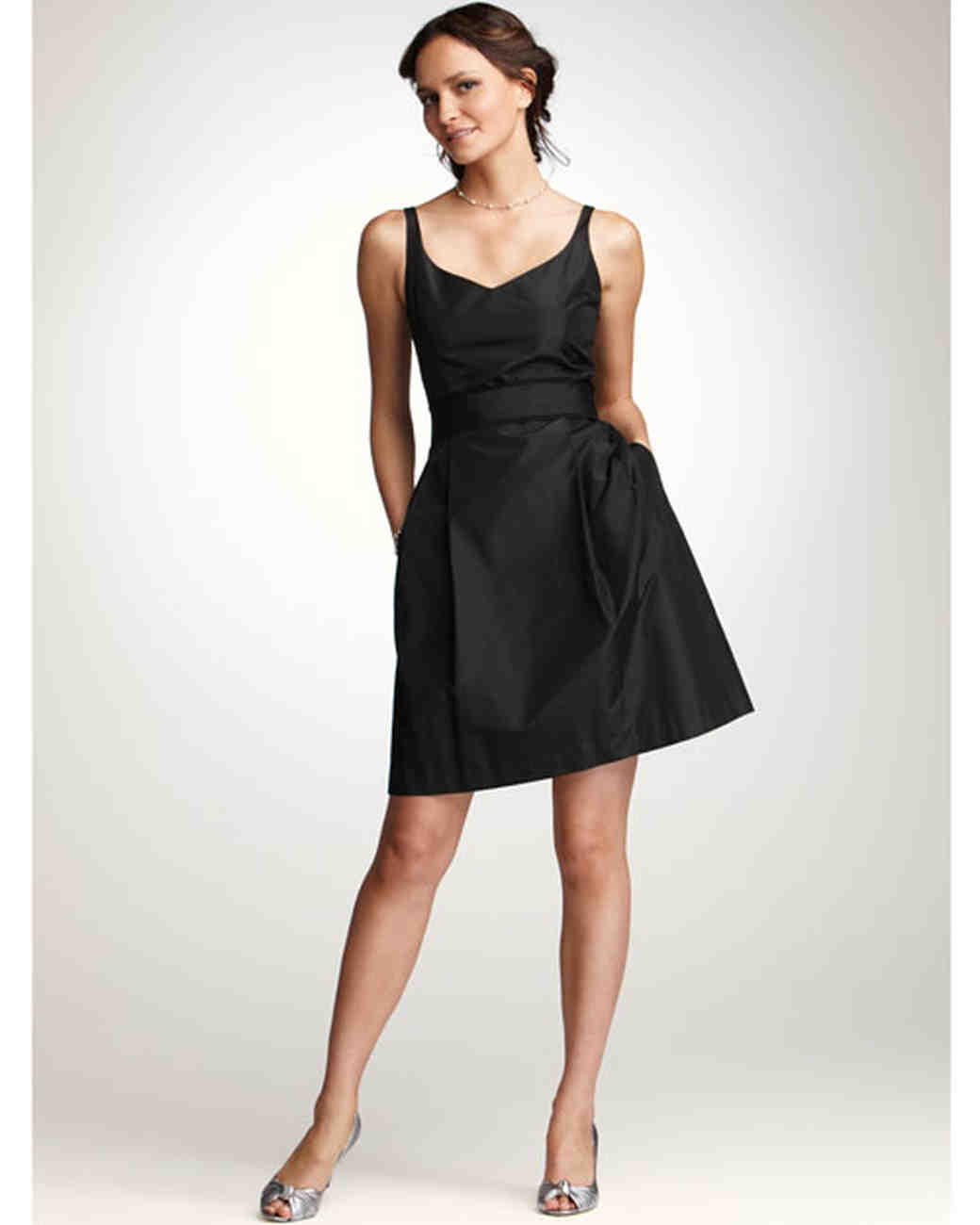 Ann taylor spring 2012 bridesmaid collection martha stewart weddings short black bridesmaid dress ombrellifo Images