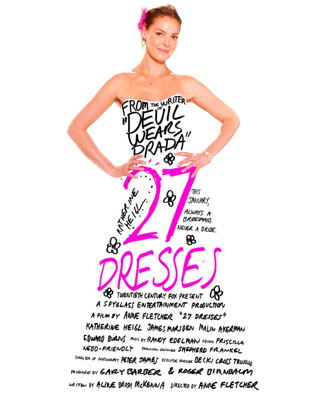 """27 Dresses"" promo"