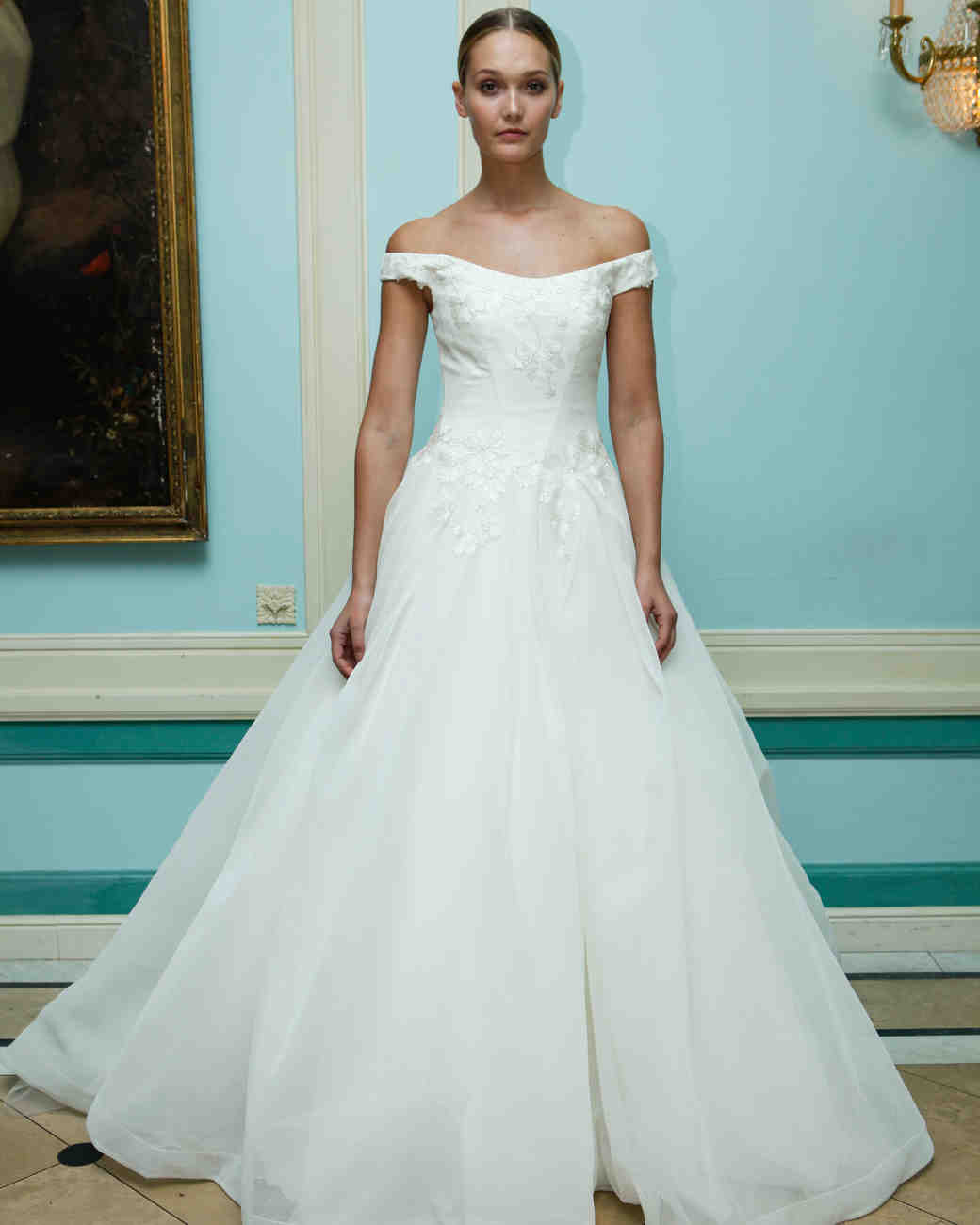 Fancy Carolyn Bessette Wedding Gown Image Collection - All Wedding ...