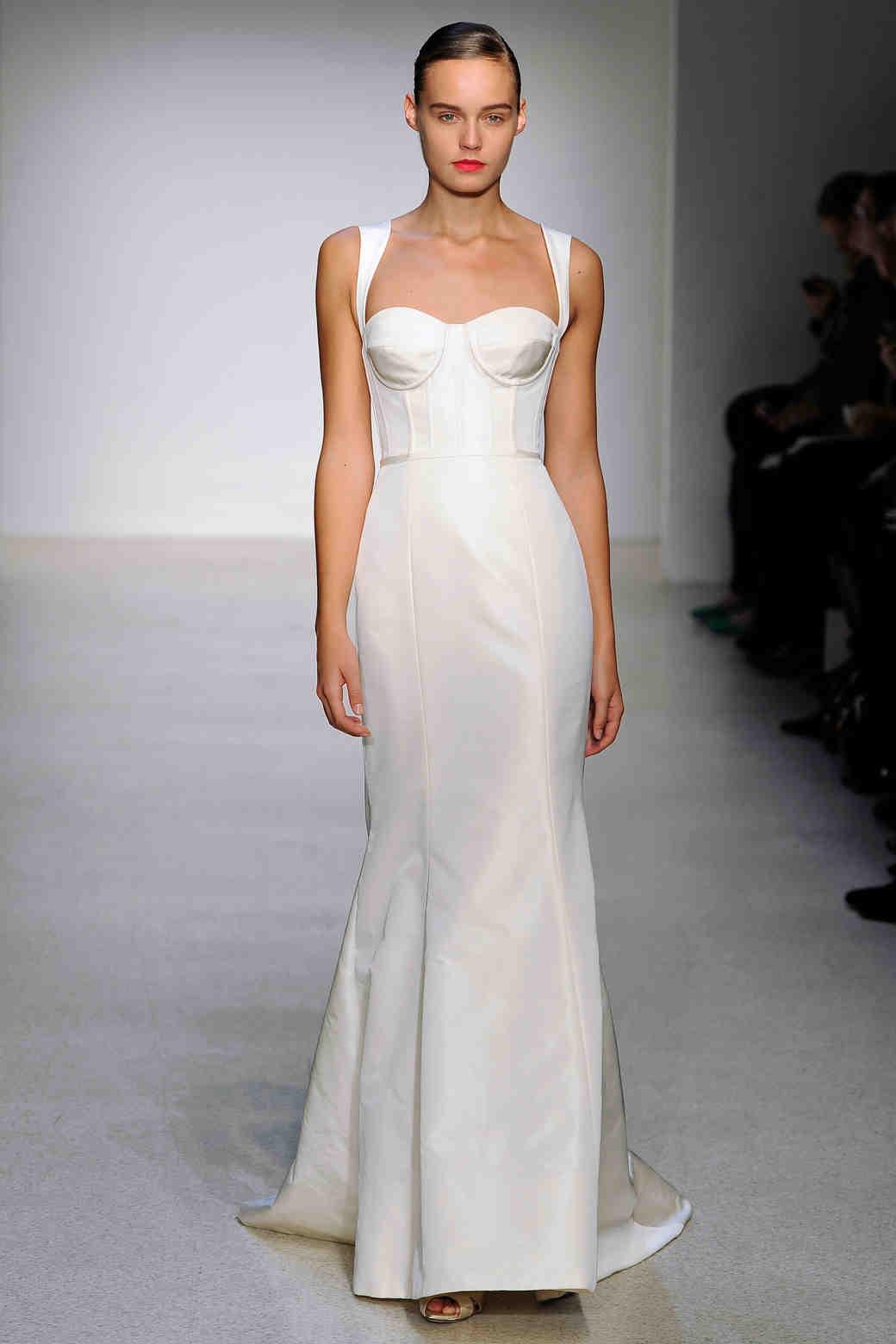 Trumpet Wedding Dresses, Fall 2013 | Martha Stewart Weddings