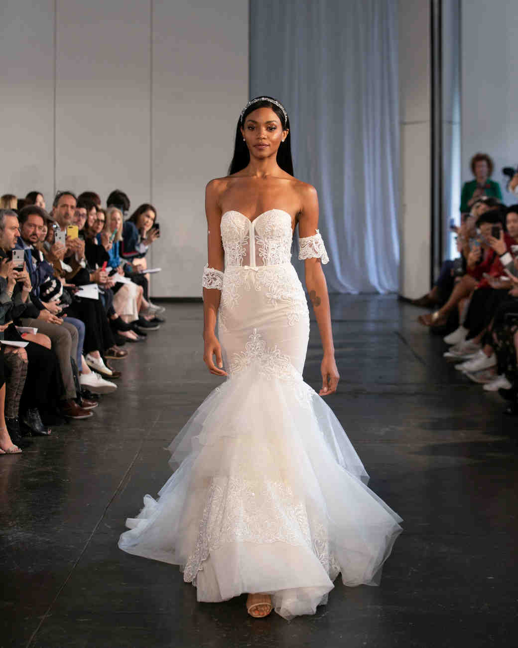 berta fall 2019 corset mermaid wedding dress
