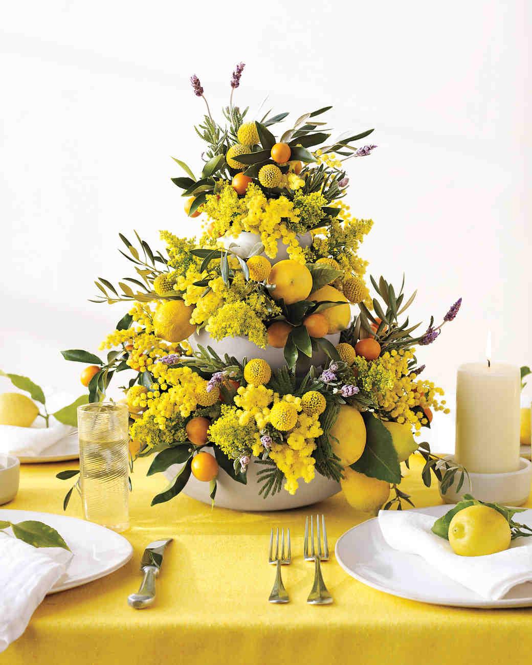 Unique flower table arrangements pixshark