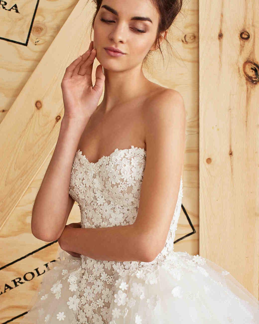 Carolina Herrera Spring 2017 Wedding Dress Collection | Martha Stewart  Weddings