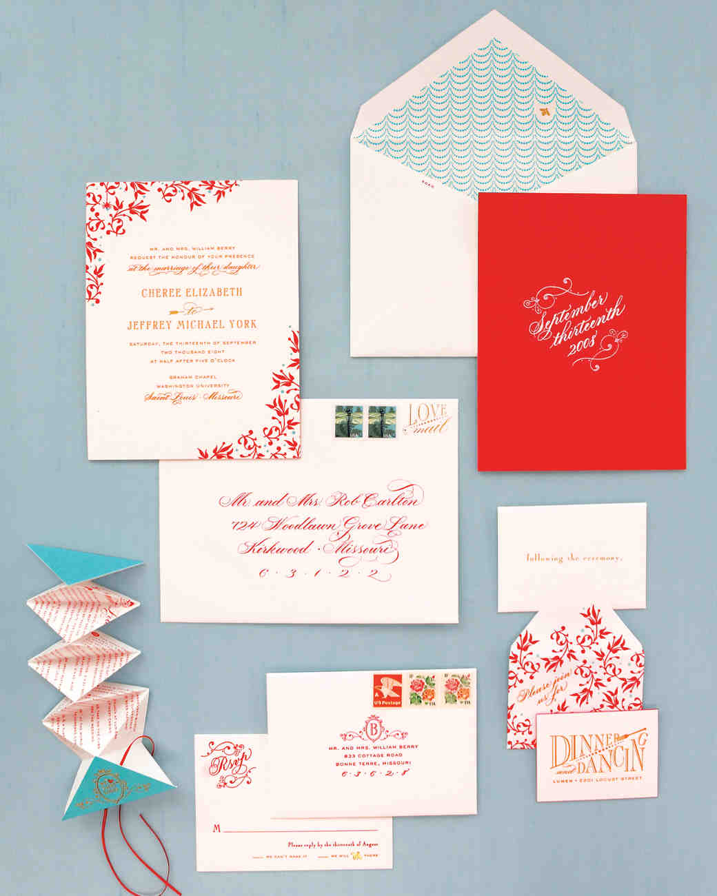 How to Create Fun (But Classic!) Wedding Invitations | Martha ...