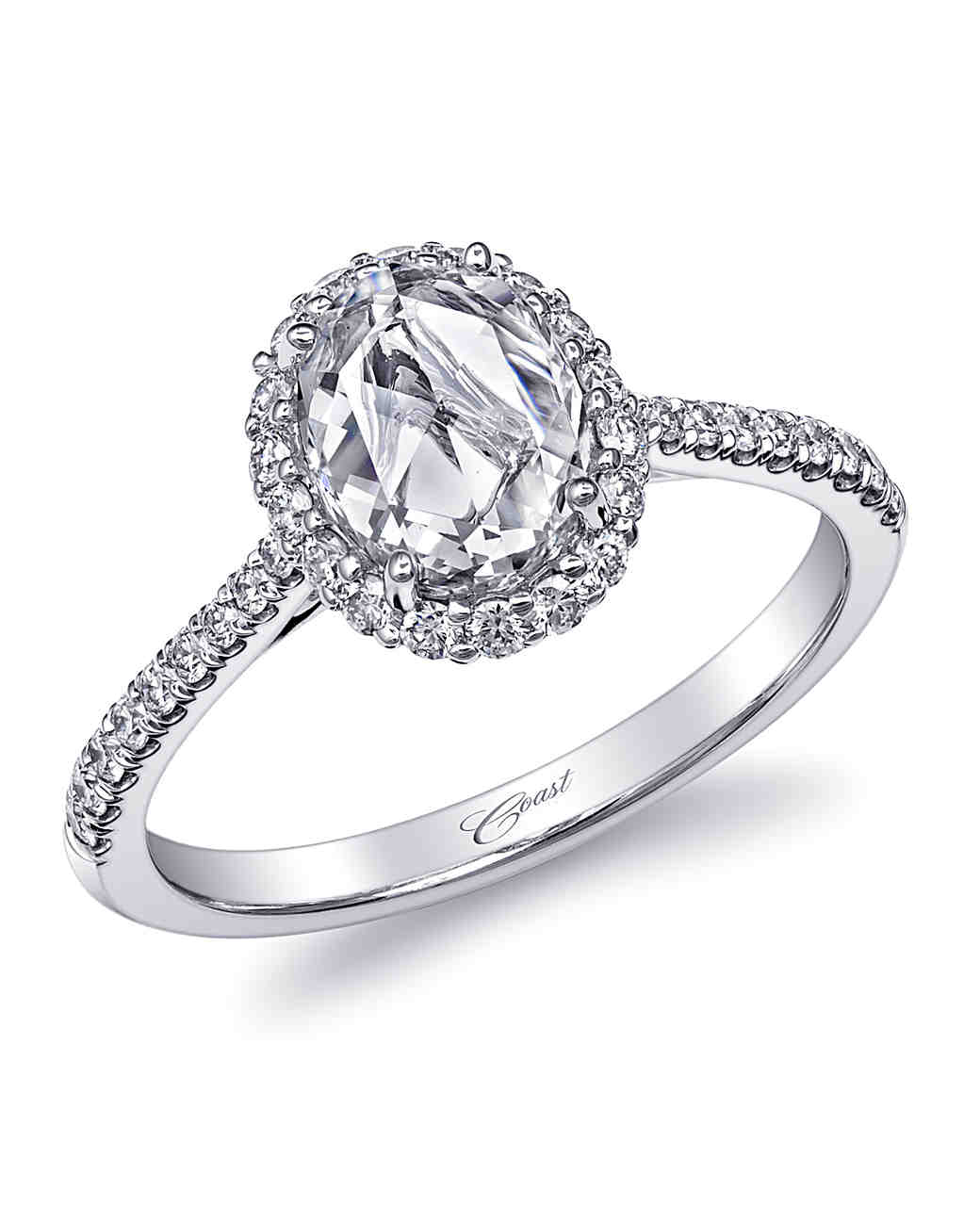Coast Diamond Oval Engagement Ring