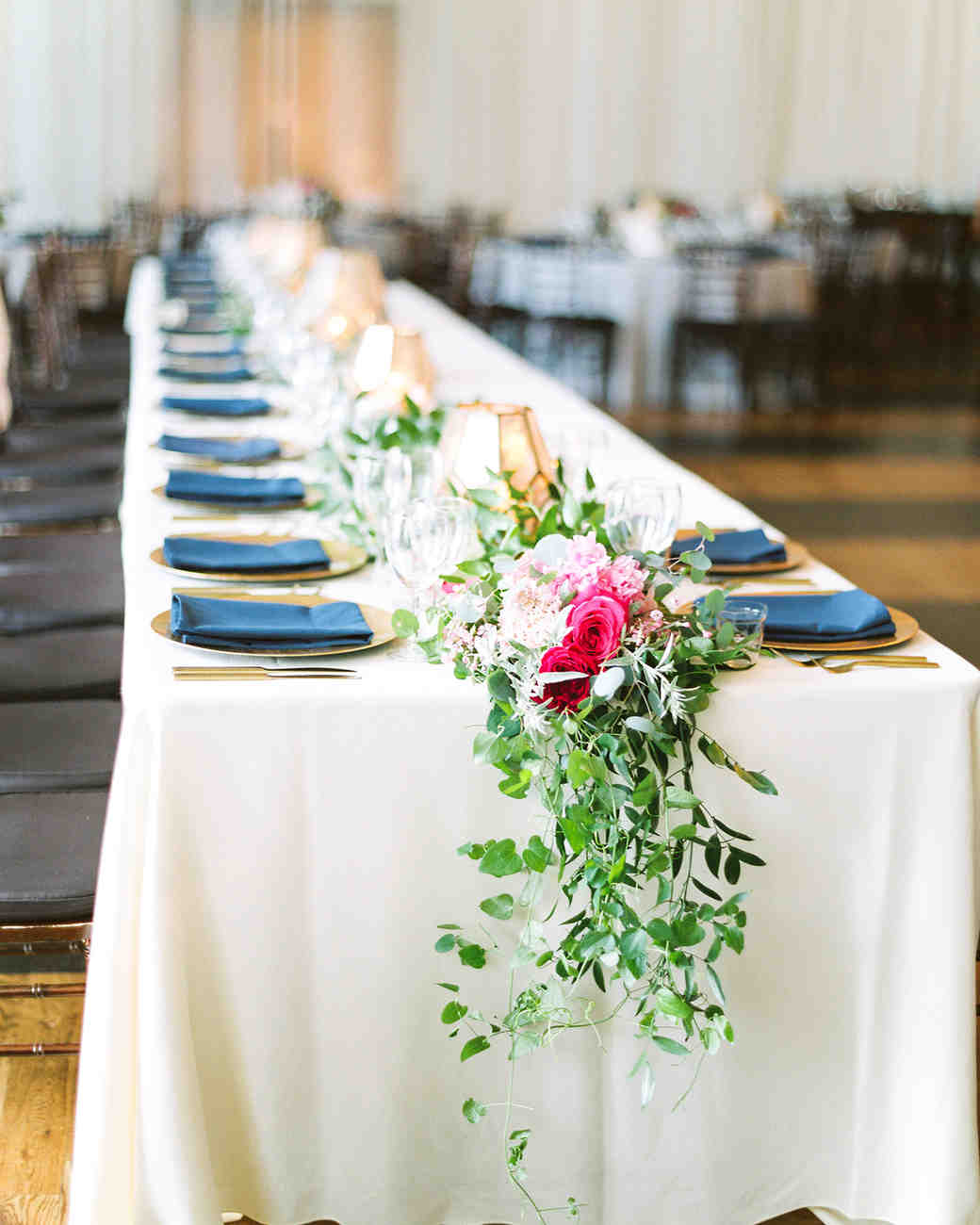 dawn rich wedding table setting