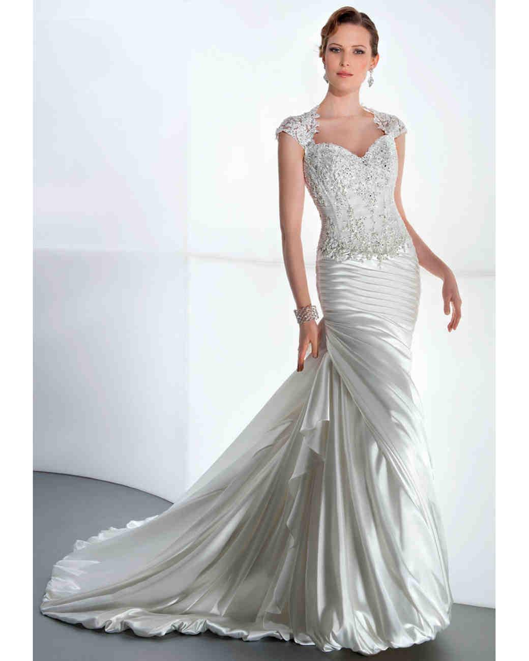 Metallic Wedding Dresses