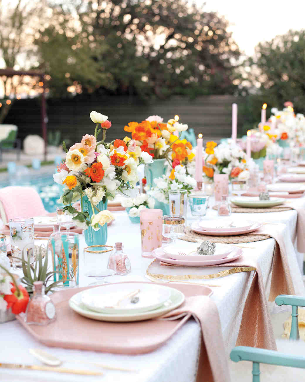43 Dreamy Watercolor-Inspired Wedding Ideas