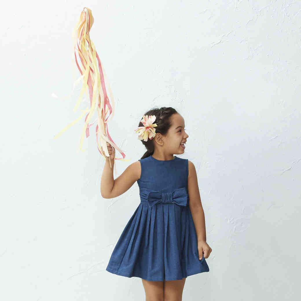 Flower Girl Ribbon Wand