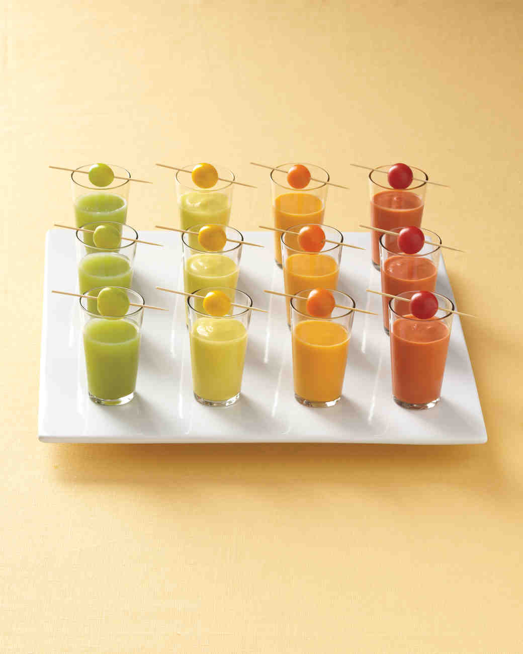 Green Gazpacho Shooters