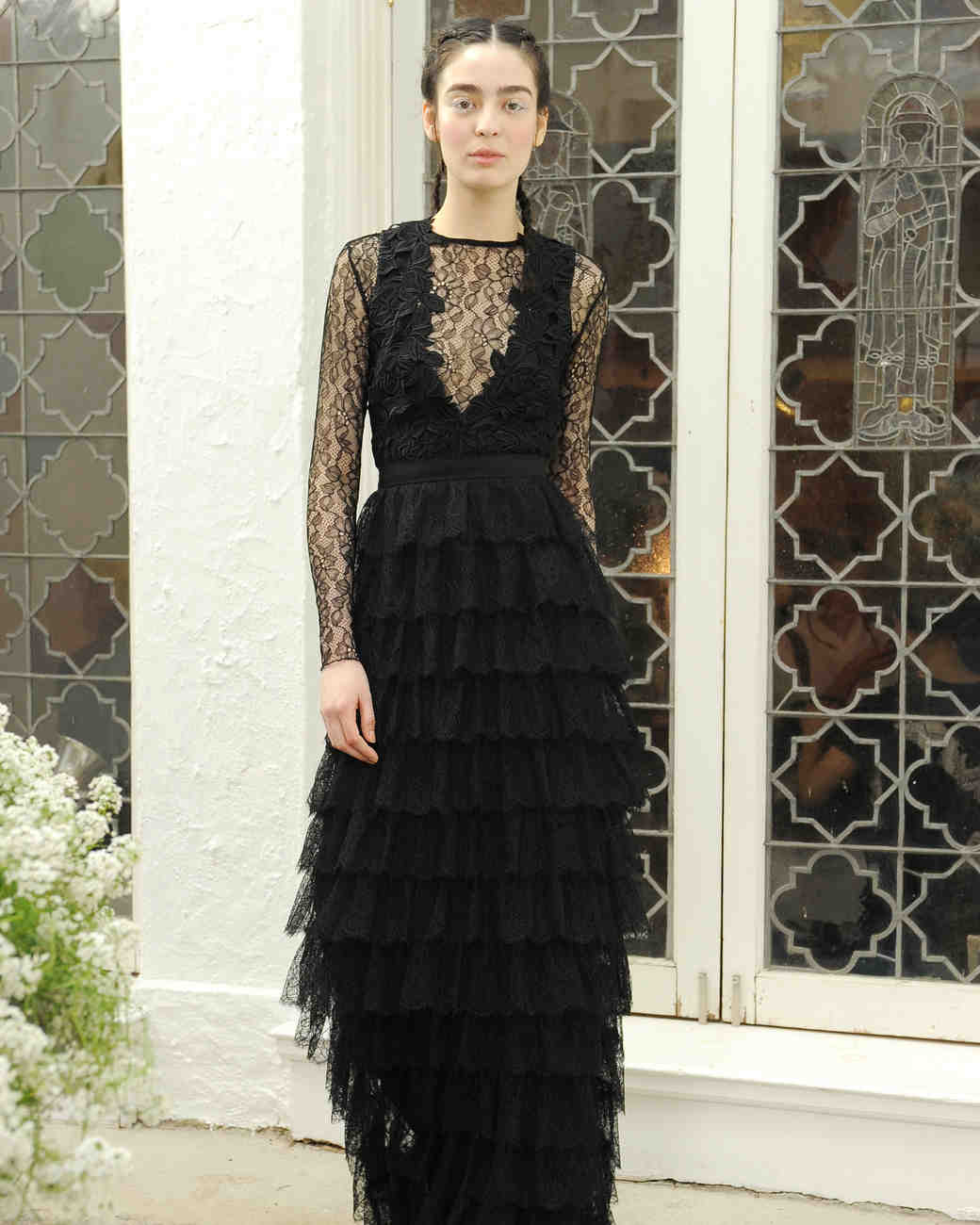 Houghton Black Wedding Dress