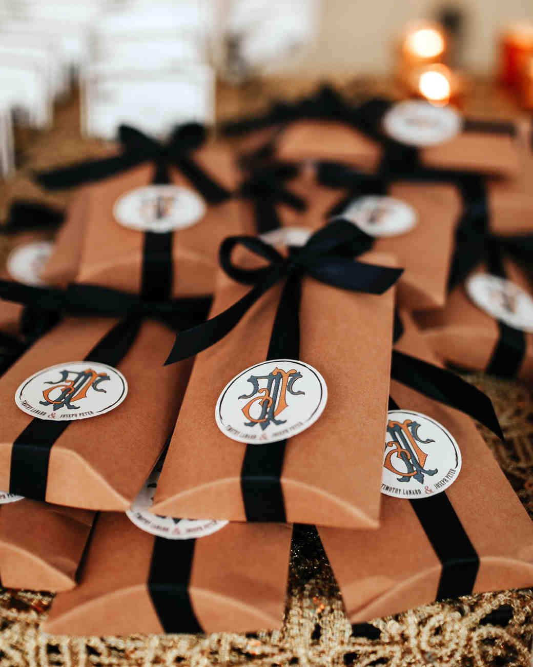 joe tim new orleans wedding favors