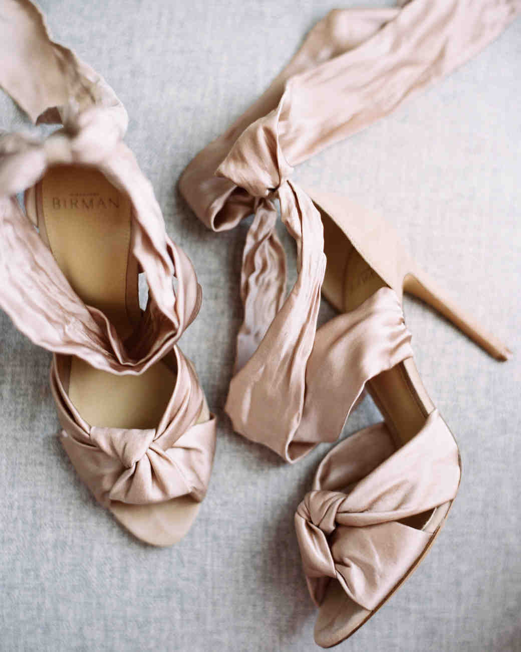 brides silk satin suede shoes