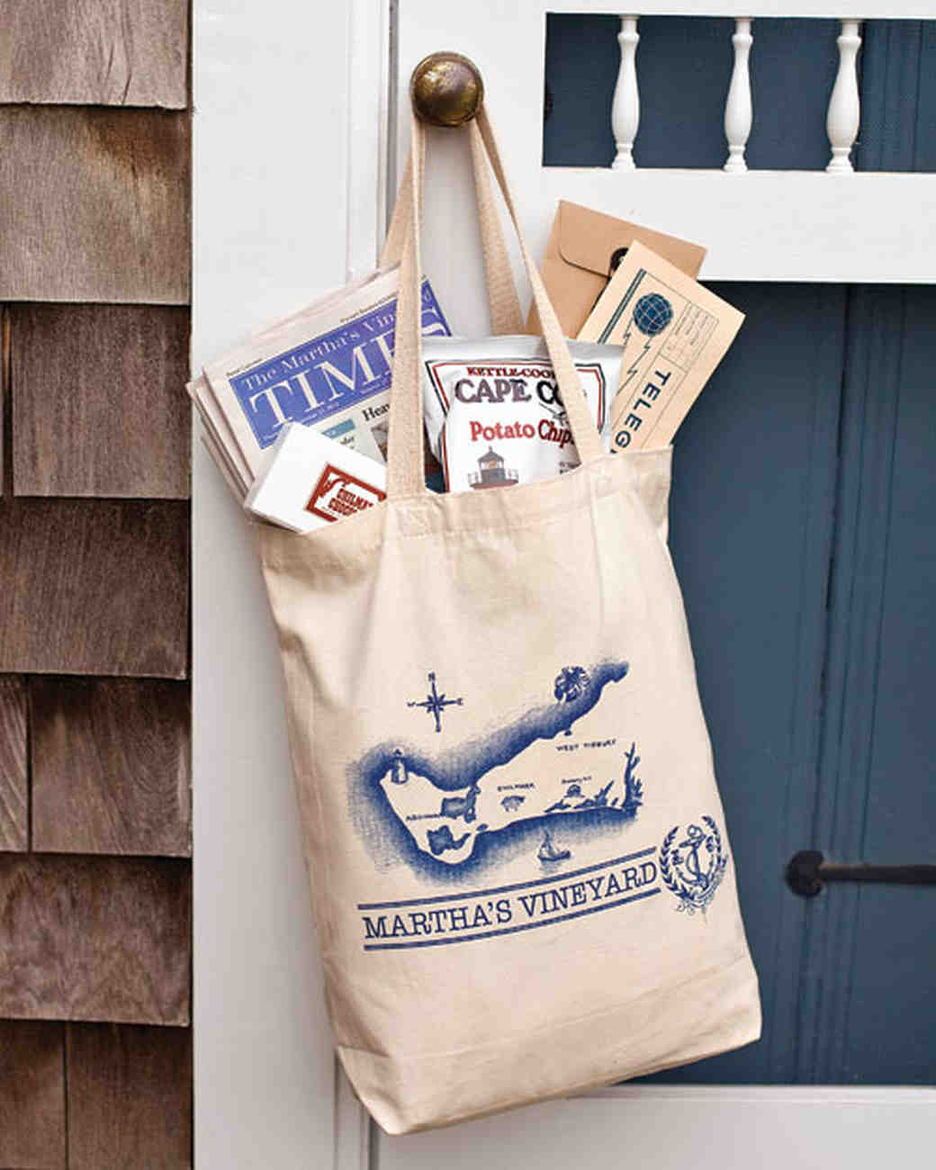 martha's vineyard welcome bag