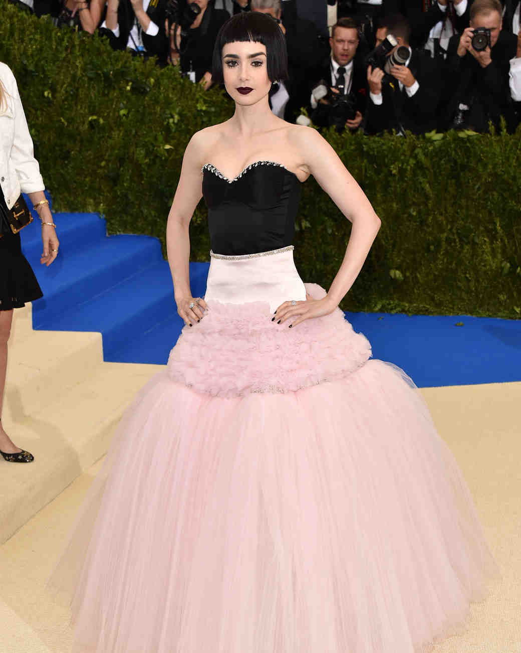 Lily Collins Met Gala 2017 Dress