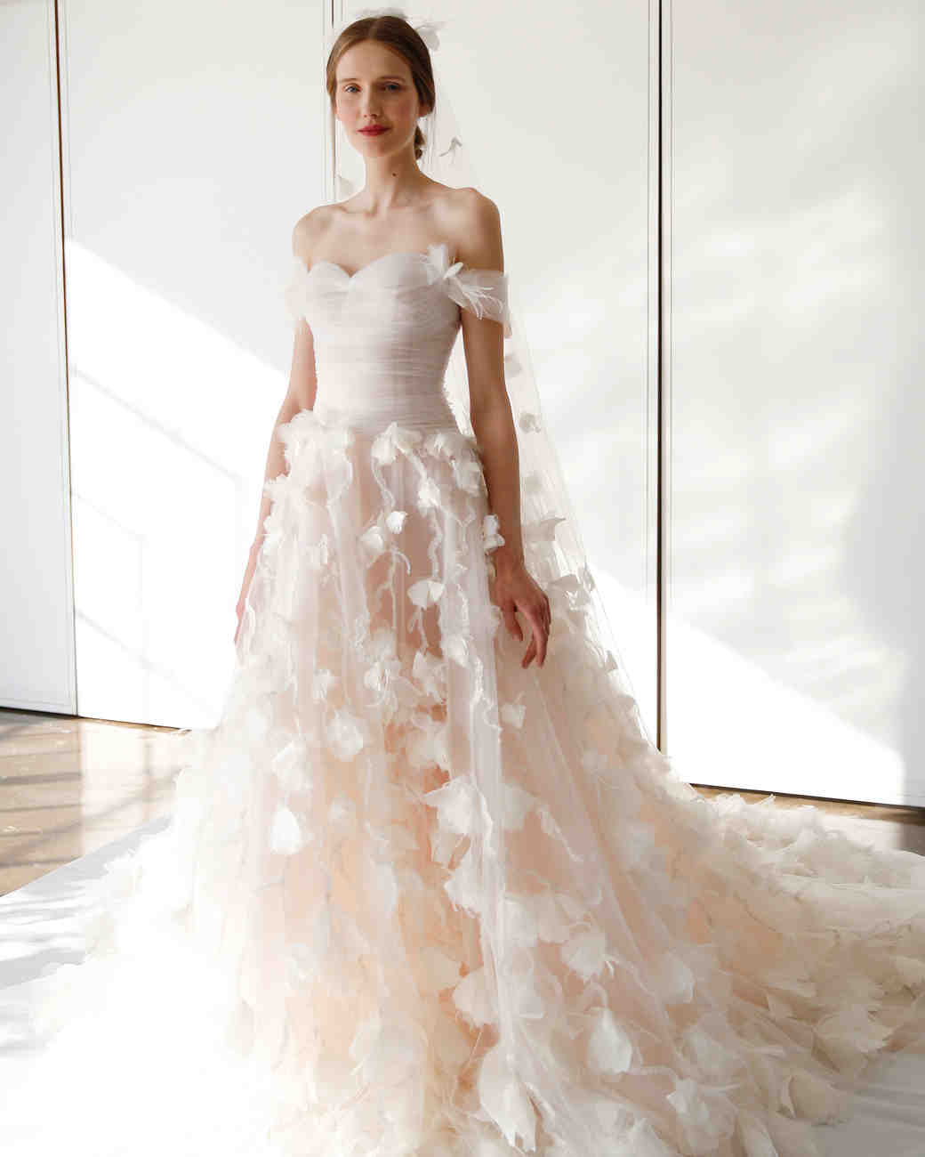 Marchesa Spring 2017 Wedding Dress Collection | Martha Stewart Weddings