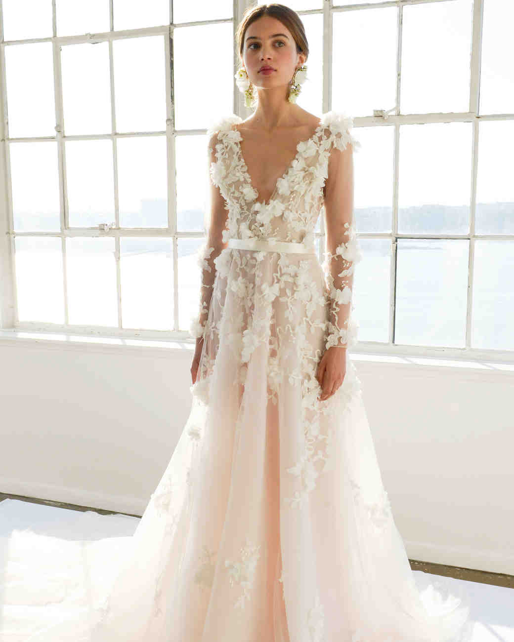 Wedding Gowns: Marchesa Spring 2017 Wedding Dress Collection