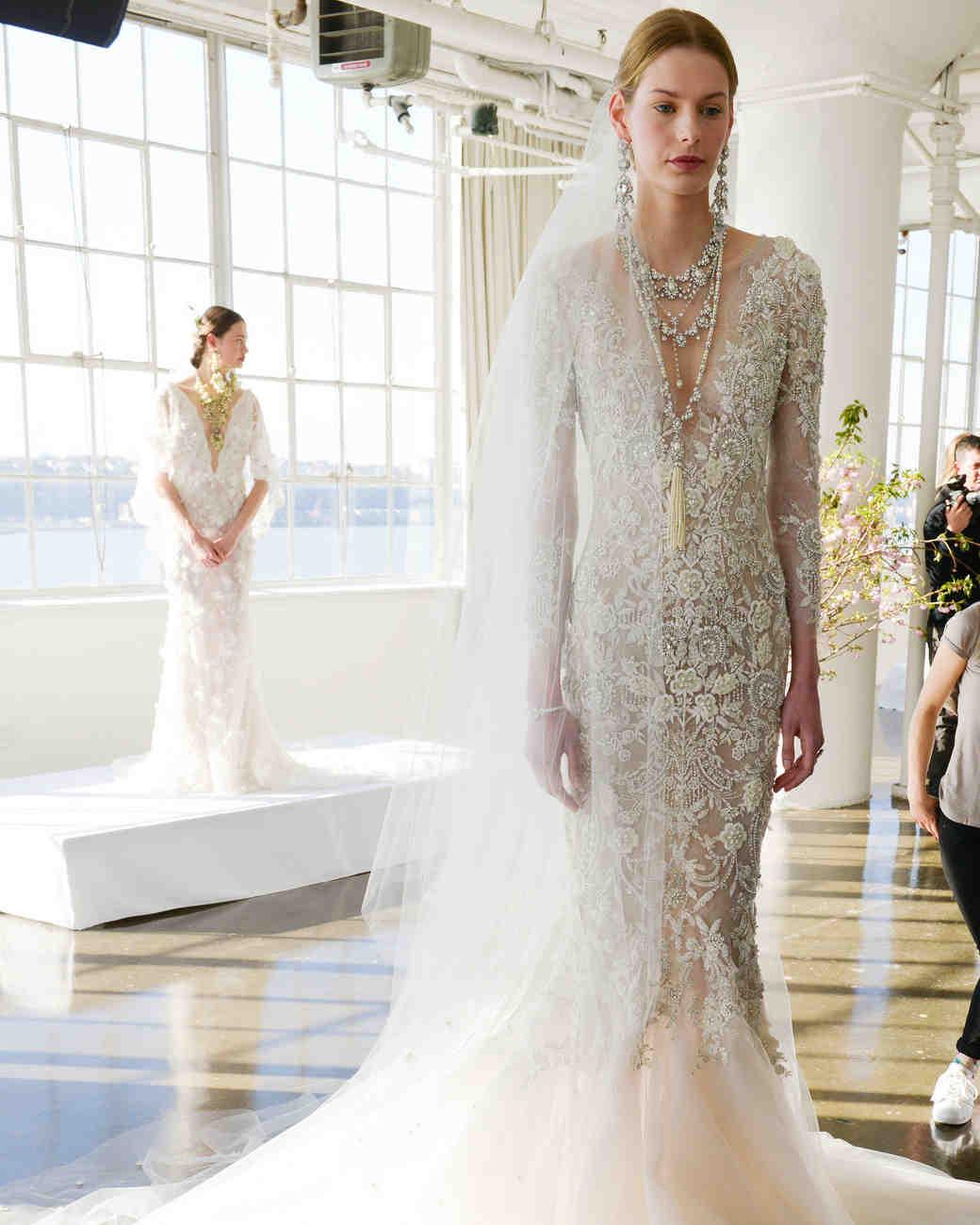 Marchesa Spring 2017 Wedding Dress Collection Martha Stewart Weddings
