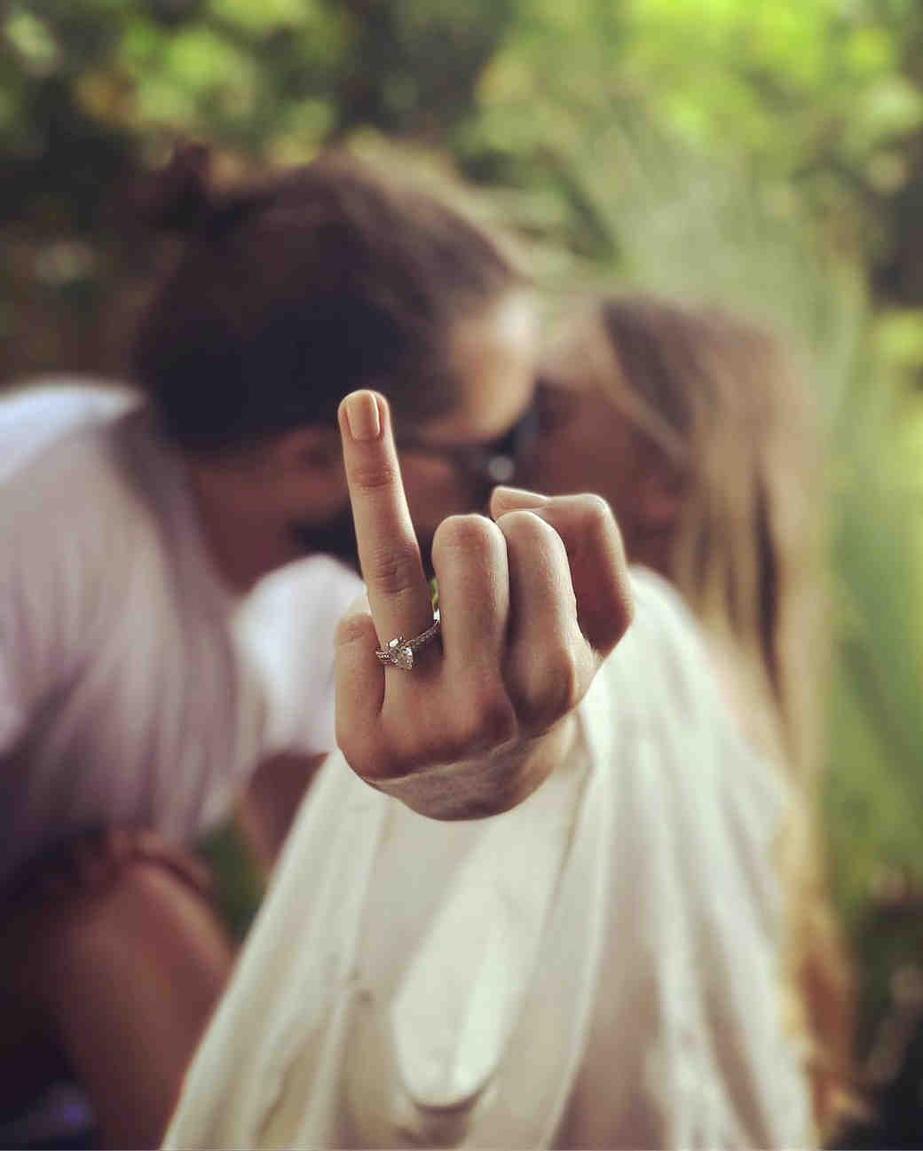 margot robbie tom ackerley engagement ring