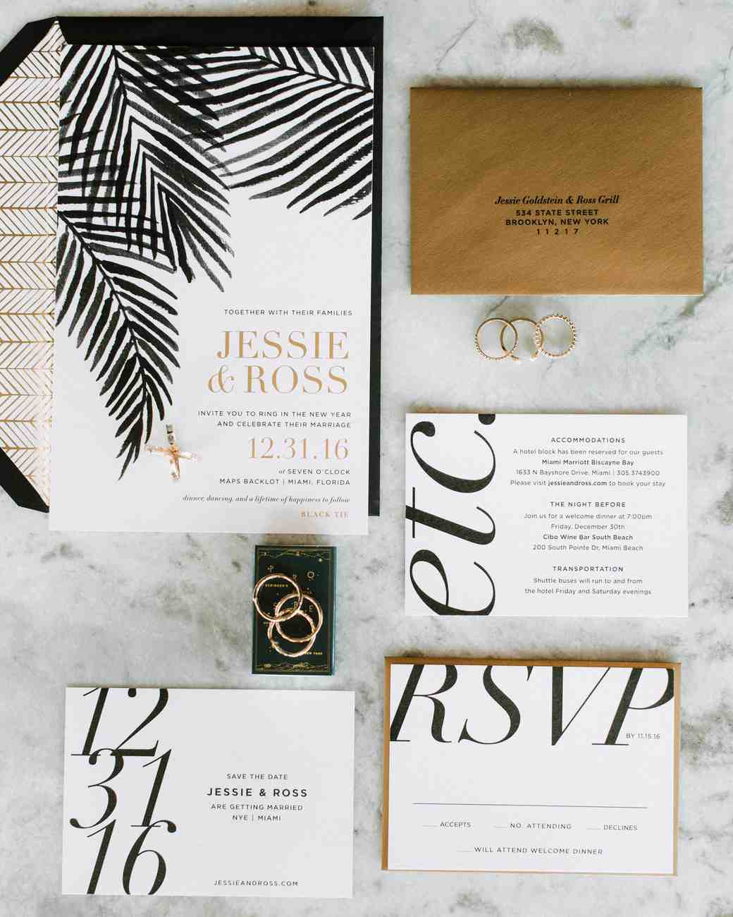 The Etiquette of Wedding Invitation Enclosures | Martha Stewart Weddings