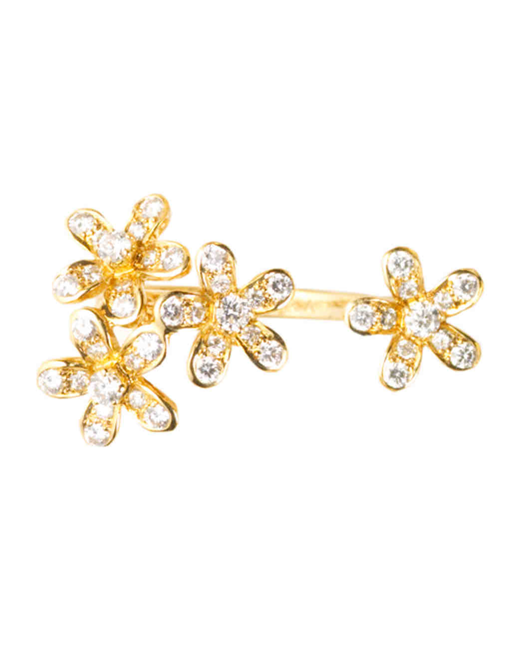 Socrate Yellow Gold Engagement Ring
