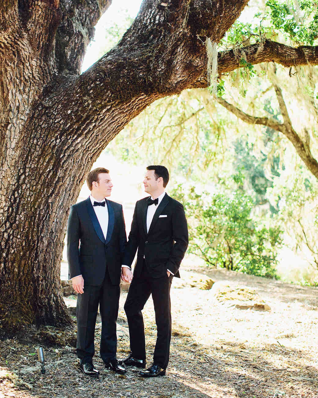 A Modern Navy-and-Black Wedding on a Ranch in California | Martha ...