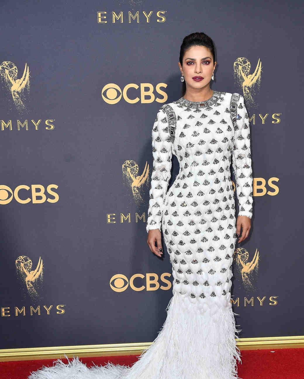 Priyanka Chopra Emmys Red Carpet 2017