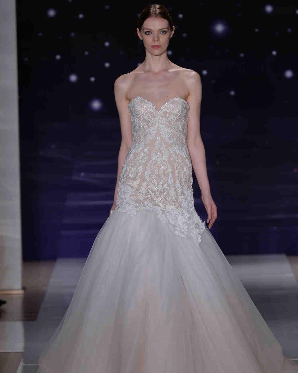 Reem Acra Spring 2016 Bridal Show | Martha Stewart Weddings