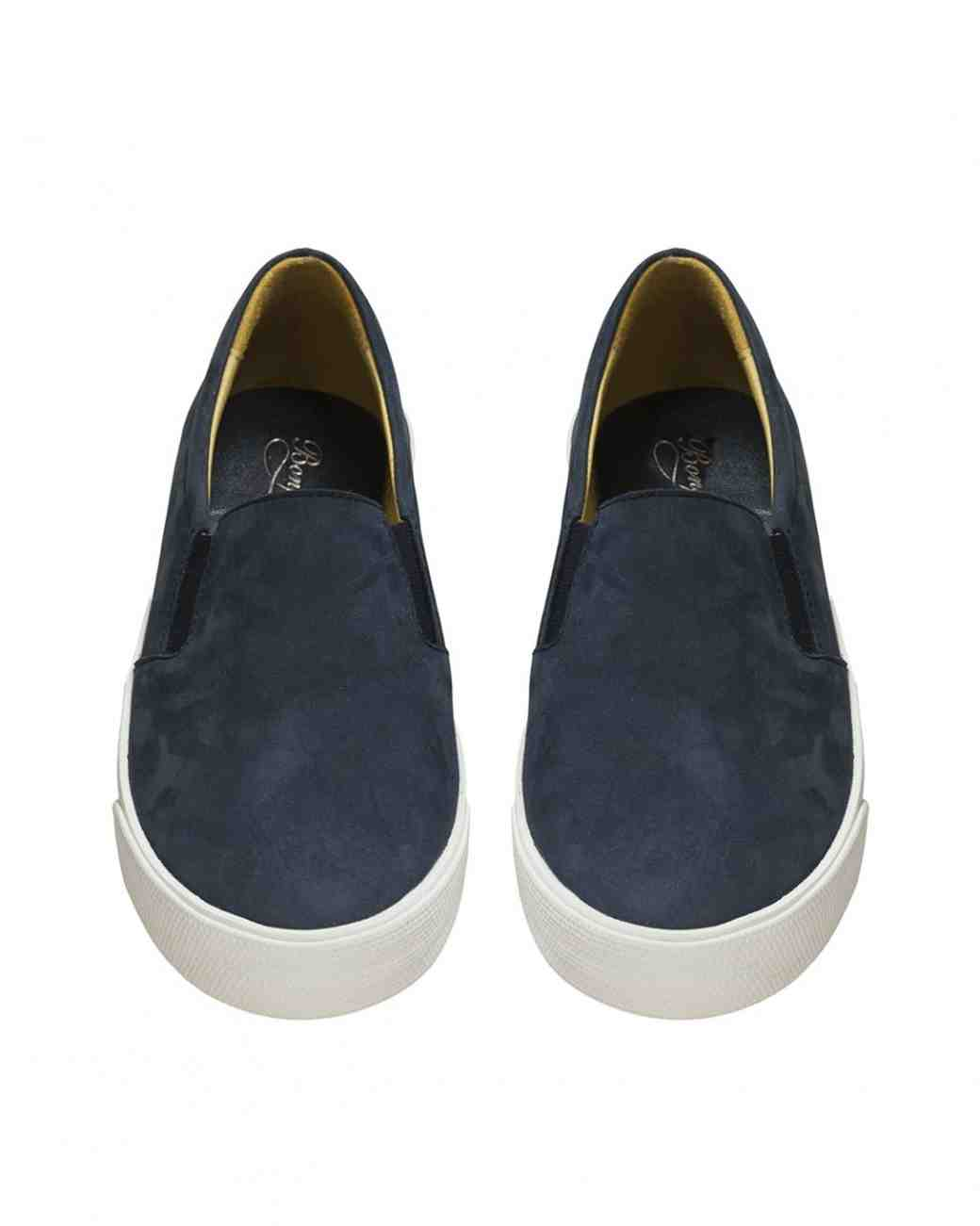 Bonpoint slip on ring bearer shoes