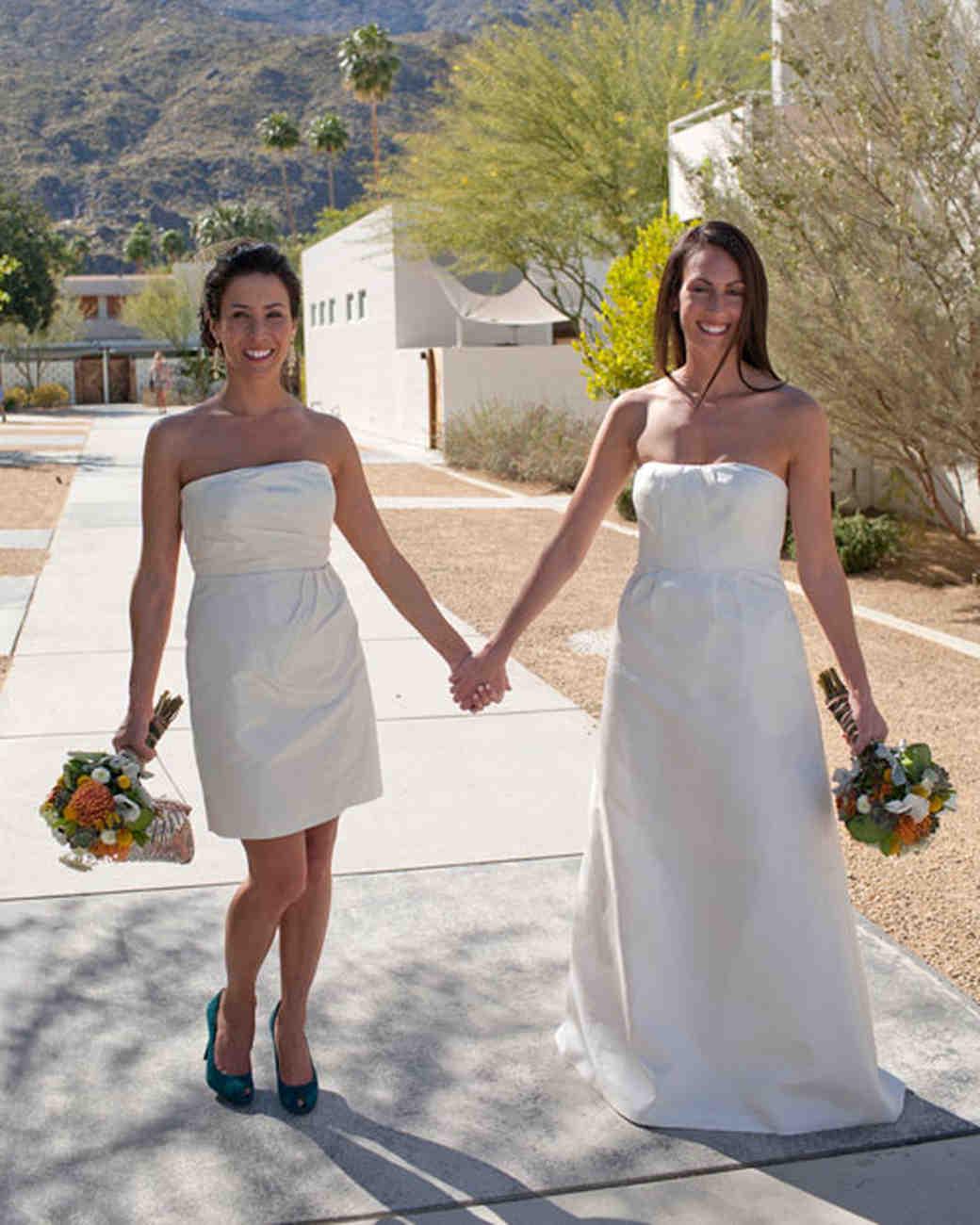 wedding dresses long and sort