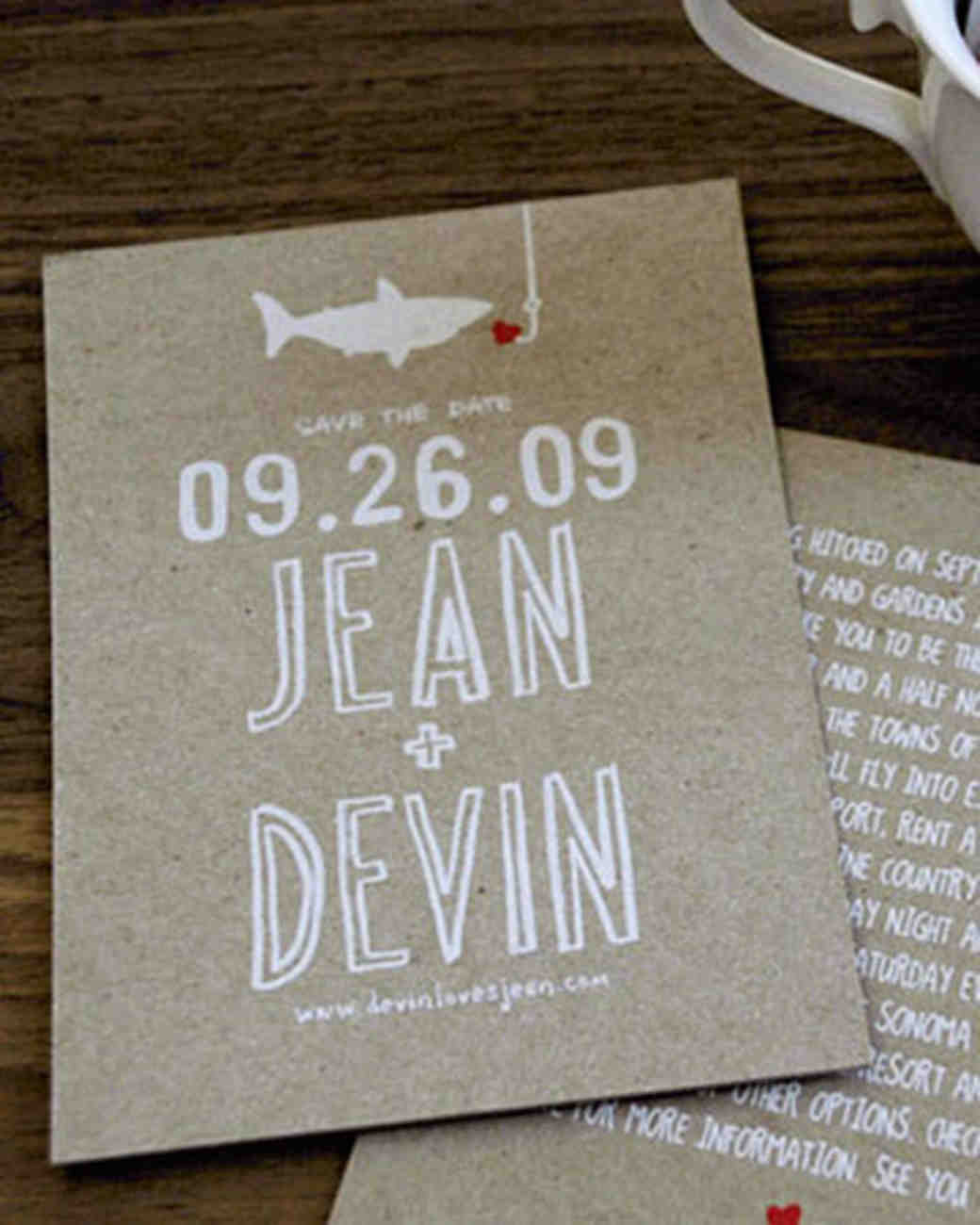 save the dates from real weddings martha stewart weddings