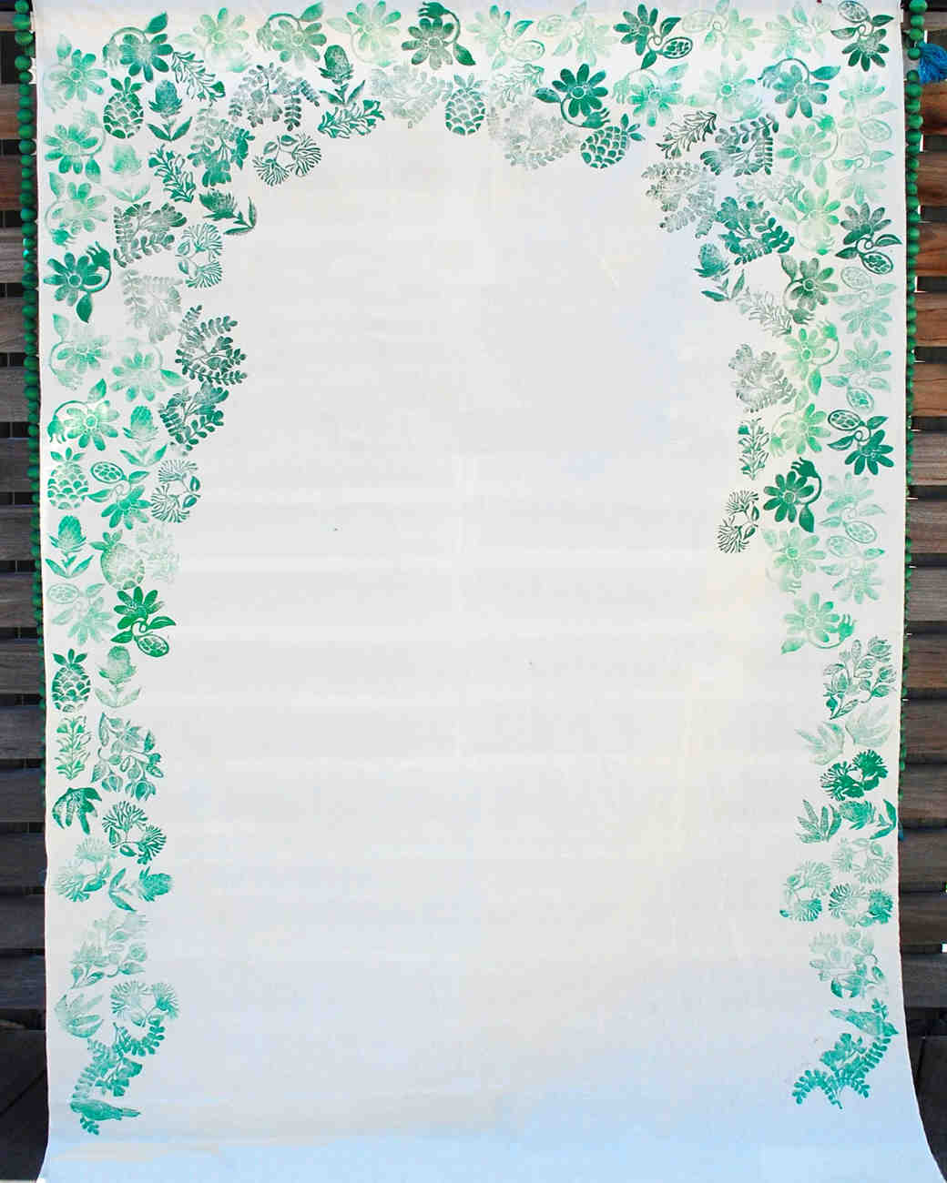 21 creative wedding backdrop ideas martha stewart weddings for Background decoration images